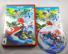 Mario Kart 8 (Nintendo Wii U, 2014) - Complete CIB Works Great Fast SHIP!