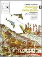 Paesaggi della storia 1, Luciano Marisaldi, Zanichelli editore, cod9788808162724