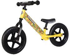 STRIDER 12 Sport Monster Kids Balance Bike Learn To Ride Pre Bike Yellow 2017