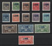 1920 Schleswig aus 15-28 Einzelwerte ** postfrisch Marken einzeln auswählbar