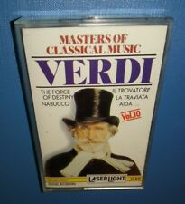 Giuseppe Verdi, Masters Of Classical Music, Vol.10 (CASSETTE) PLAY TESTED