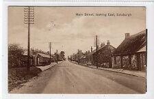 MAIN STREET, LOOKING EAST, SALSBURGH: Lanarkshire postcard (C16882)