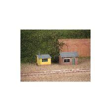 2 SOL huttes (1 brique,1 bois) – N GAUGE Bâtiments ratio 237 - F1