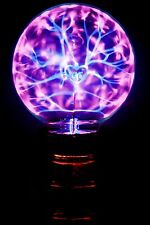 wunderschöne romantische Plasmalampe Plasmakugel mit glühender Schrift LOVE