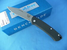 Benchmade 318-2 Proper Knife Carbon Fiber S90V Clip Point 1st Run #466
