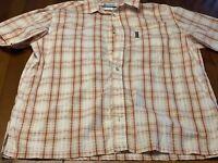Columbia Sportswear Mens Size XL Button Up Short Sleeve Casual Shirt
