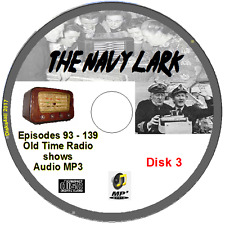 The Navy Lark 47 Old Time Radio Episodes  Jon Pertwee Audio MP3 CD OTR  No3