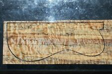 """Quilted Spalted Maple 20 7/8"""" X 7 1/4"""" X 2 1/8"""": Guitar, Luthier, Craft, Scales"""