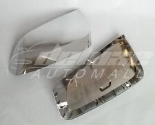 "Chrome Mirror Covers ""ClipOn"" Replacement Shells FOR 2014-2017 2019 Chevy Impala"
