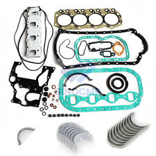 4JB1 4JB1T Engine Gasket Kit & Bearing Set For Isuzu Bobcat NKR NHR Excavator