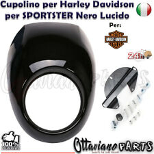 CUPOLINO per HARLEY DAVIDSON FAIRING FOR SPORTSTER XL 883/1200 Black LUCID M80