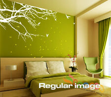 "Wall Decal Sticker Mural Removable Small size Corner Top Branch 60""W 2 Colors"