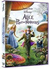 DVD *** ALICE AU PAYS DES MERVEILLES *** de tim Burton