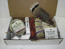 Sage Smudge Kit Travel Kit Gift Set with Gift Card