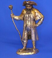 Royal Hampshire silvered bronze 'Cries of London' figure Town Crier *[17495]