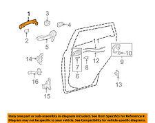 TOYOTA OEM 09-13 Corolla-Outside Exterior Door Handle 69211AA020B7