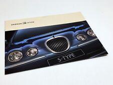 2000 Jaguar S-Type Launch Preview Brochure