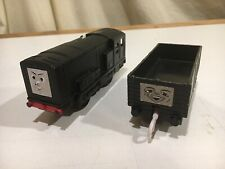 Motorized Diesel with Black Troublesome Truck for Thomas and Friends Trackmaster