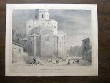 Lithographie JORAND / FRAGONARD Issoire VOYAGE PITTORESQUE Taylor AUVERGNE 1829