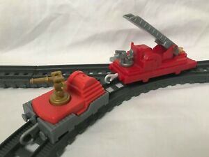 Thomas the Tank Engine Trackmaster Fire Engine Train Carriages
