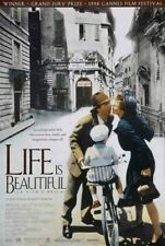 Life is Beautiful 1998 one sheet - 27x40 rolled - free shipping