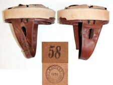 coiffe intérieure cuir brun casque Modèle 35 Troupes motorisées taille 58