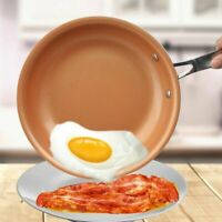 Non Stick Frying Pan Ceramic Induction Bottom Alloy Copper Fry Pan Kitchenware