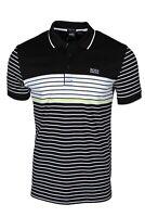 Hugo BOSS Paddy 7 Men's Regular-fit Polo Black 50424756 001