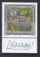 """Ö.2001 ANK.Nr.:2385 Sondermarke mit Werbezudruck""""Preberschießen Lungau""""pf**"""