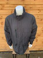 Timberland Weathergear  Fleece Lined Parka Jacket Retro 00s Mens Black XL