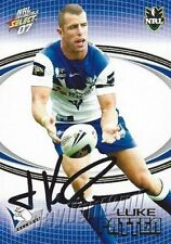 Autograph Canterbury Bulldogs NRL & Rugby League Trading Cards