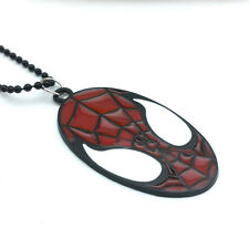 Fashion Charm Men's Girl Spiderman Pendant Drip Oil Alloy Pendant Necklace