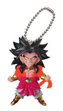 Dragon Ball Z Mascot Swing PVC Keychain SD Figure ~ Super Saiyan 4 Broly @19841