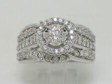 Wunderschöner Brillant Ring Weißgold  total 1,02ct Wesselton  Viertelkaräter