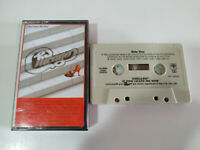 Chicago If You Leave Me Now Exitos CBS 1983 - Cinta Tape Cassette 2T