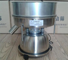 CE Stainless Steel Electric Chinese Medicine Sieve, Vibrating Sieve Machine
