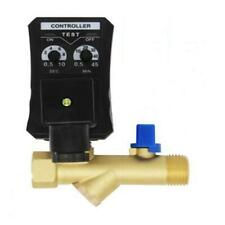 Automatic Electronic Timed 2 way Air Tank Water Moisture Drain Valve Compressor