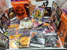 24 Mixed Halloween Items Balloons Napkins Party Wholesale Job Lot clearance