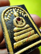 6883-THAI AMULET SOMDEJ GEMS ELEPHANT PIKANET GOD MERCY SUCCESSFUL LP KOON PAINT