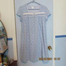Secret Treasures L (12 - 14) Blue Sleepwear Nightgown