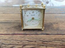 Vintage Made in Germany Forestville Alarm Clock for Parts or Repair
