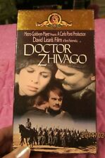 Doctor Zhivago (VHS, 2-Tape Set)