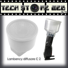 LAMBENCY C2 DIFFUSORE FLASH SPEEDLITE CANON 430EX 420EX SONY F36AM  5D MARK III