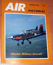 Air Pictorial 1985 February Finland,Tornado,Boeing 767,Hungary,RAF Shawbury
