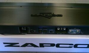 New ZAPCO DC REFERENCE DC1100.1 1 channel Built-In DSP USB Input 1100 RMS watts