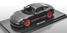 PORSCHE 911 991 R Lightweight schwarz black red rot NEU NEW Resin Spark  1:18
