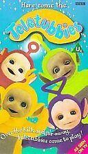 Teletubbies - Here Come The Teletubbies (VHS/PAL 1999) BBC Retro Kids