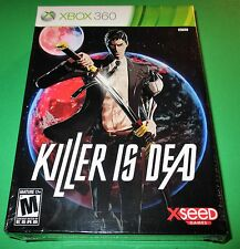 Killer Is Dead - Limited Edition - Xbox 360 - Factory Sealed! Free Shipping!