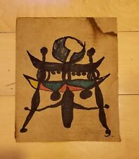 Joan Miró INK ON PAPER PAINTING SIGNED