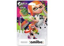 Nintendo Switch Splatoon 2 Inkling Girl Orange amiibo Wii U